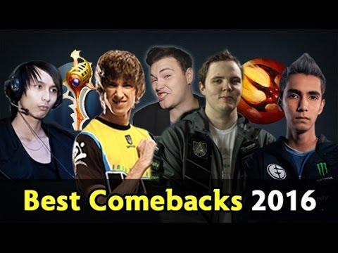 Biggest Comebacks of 2016 — Dota 2