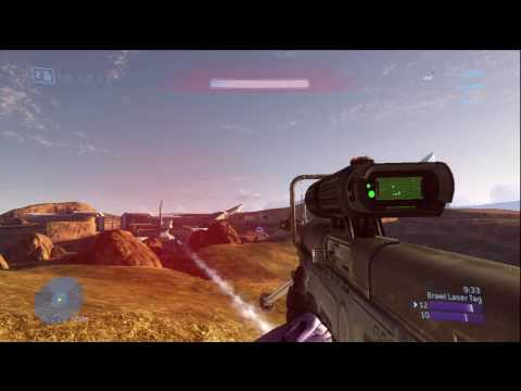 AMAZING No Scope Across the Map Halo 3