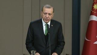 Cumhurbaşkanı Erdoğan: Bürokrasiye kurban edilecek tek bir saniyemiz yok