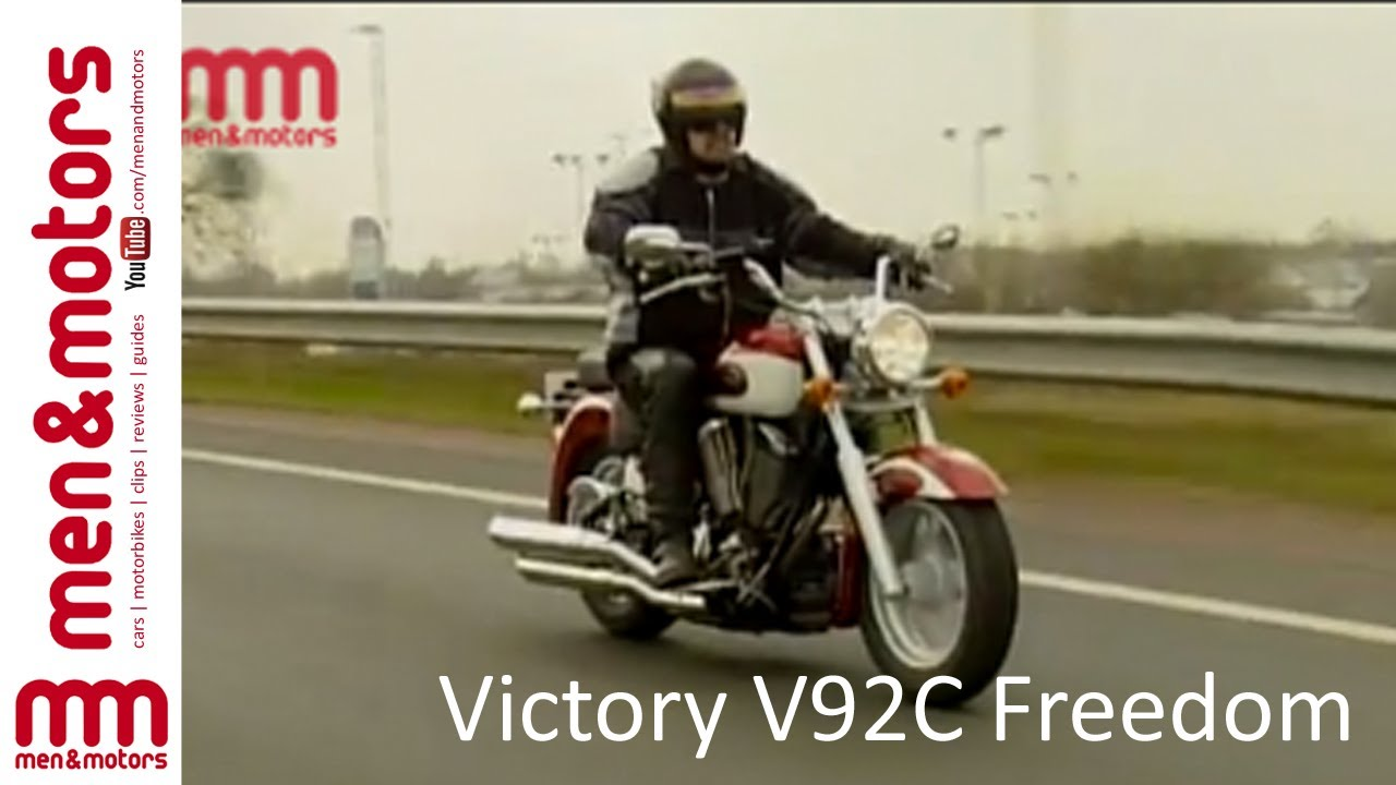 Victory v92c freedom review 2003 youtube Freedom motors reviews