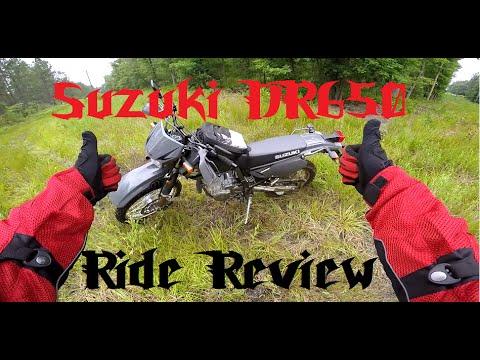 Suzuki DR650 Ride Review.