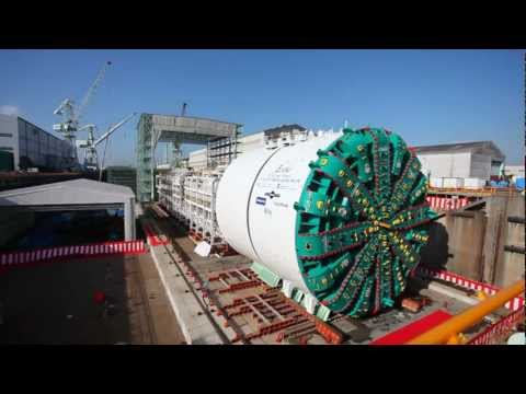 Mega TBM for Seattle tested in Japan