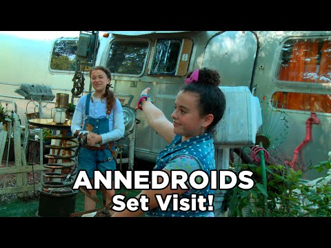 Annedroids Behind the Scenes Set Visit