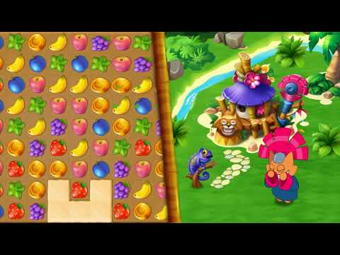 Tropicats: Build, Decorate & Play Match 3 Paradise APK Cover