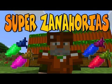 MEGA - ZANAHORIAS!! | USEFUL CARROTS MOD | Minecraft Mod Review
