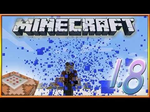 Minecraft 1.8 Snapshot: Epic Particle effects!