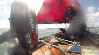 Mirror at Sea (1) - tack, heave-to and reef
