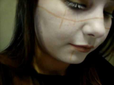 hellboy halloween makeup