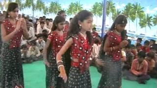 vinay mandir -sarangpipali donor satkar samarbh pogram swagat geet by std-8 girls.vob