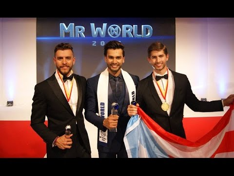 Rohit Khandelwal Wins The Title Of Mr World 2016