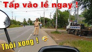 CSGT Đồng Nai Thổi - Cứ Gặp Ai Đi Ngang Chốt Là Tuýt Còi Chặn Bắt Xe
