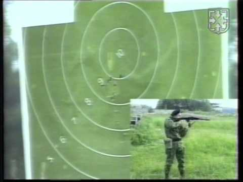 Мотострелки отрабатывают задачи контрольных стрельб