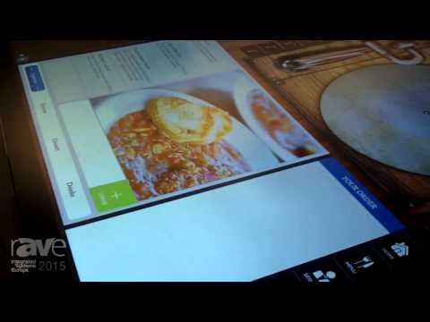 ISE 2015: Corning Showcases GiS 70-inch Interactive Display with Corning Gorilla Glass