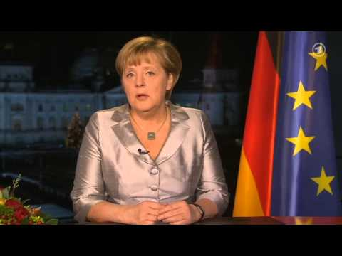 Angela Merkel — 2013 New Year's Speech