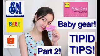 NEWBORN BABY HAUL! Part 2 | Baby gear,Stroller,Crib Tipid tips(Philippines) Tagalog