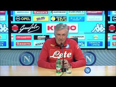 conferenza stampa prima di Udinese - Napoli