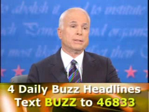 Buzz Poll Results: McCain/Dave