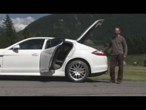 Porsche Panamera driven - by autocar.co.uk