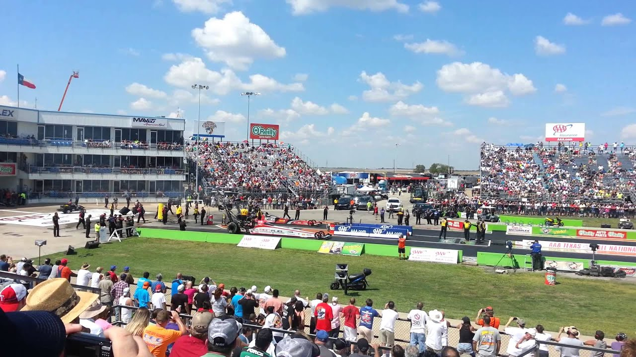 Oct 16,  · NHRA Texas Nationals once a year in Ennis Tx. I have been to Baytown and Memhpis to watch the NHRA and this is my favorite track. I would recommend this to anyone who like motorsports. The most intense and fastest racing that there is.5/5(19).