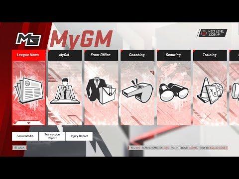 NBA 2K18 MyGM Review/NBA 2K19 MyGM Wishlist @OperationSports