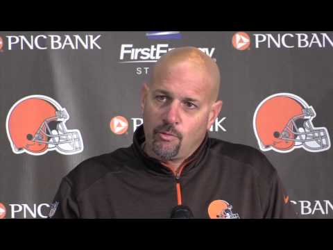 Reaction from Browns' Mike Pettine after victory over the Raiders