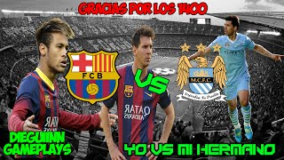 FIFA 15 | REVANCHA | YO vs MI HERMANO | DIEGUIINN | 1080p 60Fps