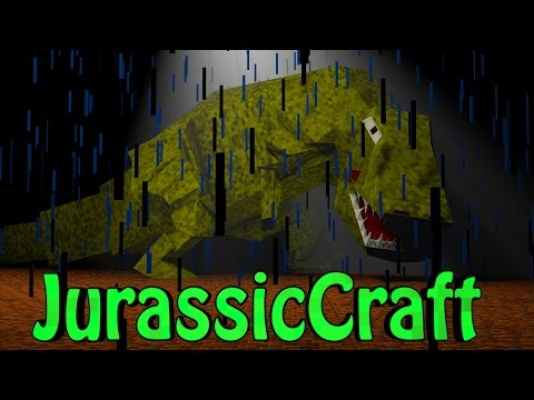 Minecraft Dinosaurs | Jurassic Craft Modded Survival Ep 9!
