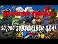Lagu 50,000 Subscriber Livestream Q & A!