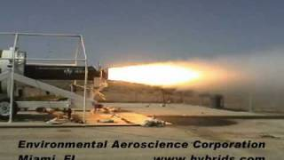 Environmental Aeroscience - 19 inch Nitrous Hybrid Rocket Motor SS1