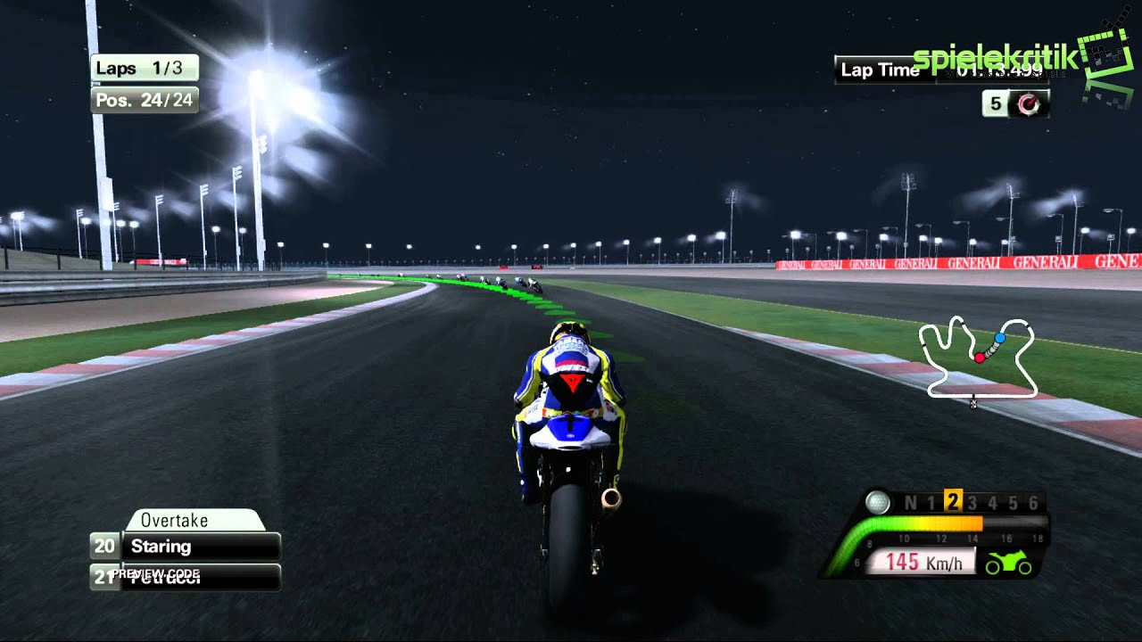 "Moto GP 13: Gameplay #6 ""Qatar, No Traction Controls"" #spielekritik.TV - YouTube"