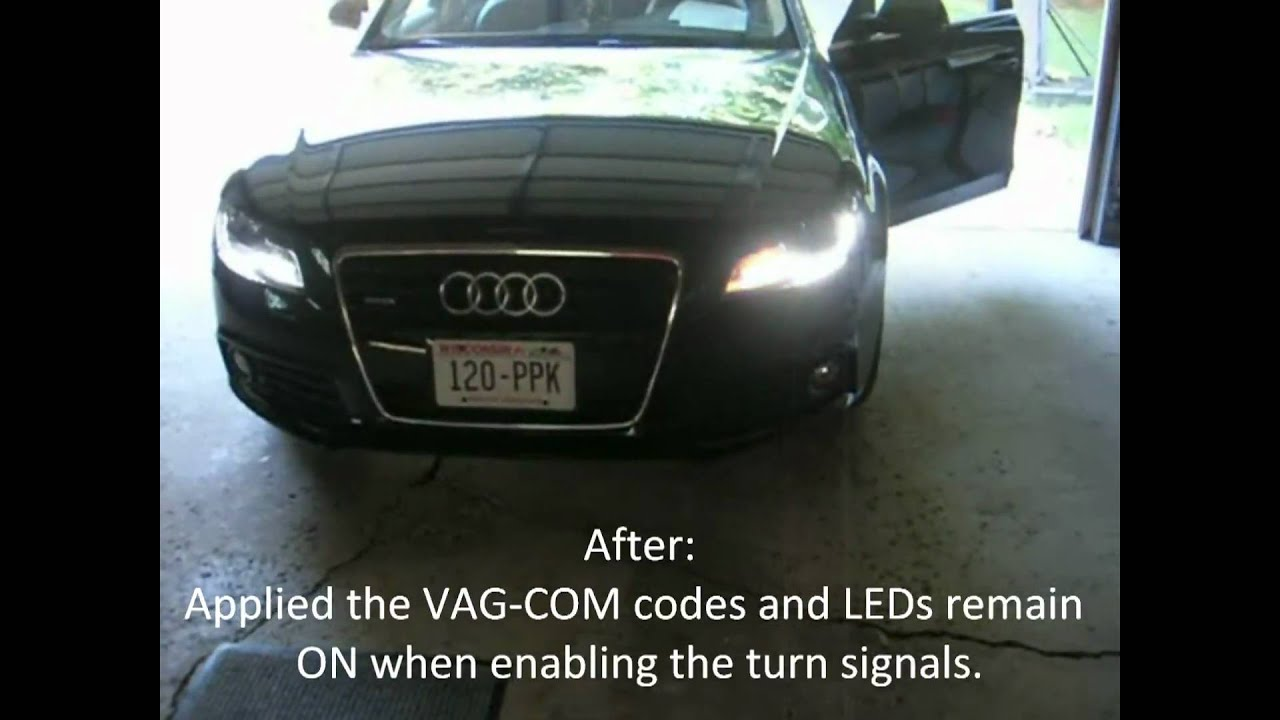 2009 Audi A4 B8 Using Vag Com Codes Dial Sweep Remote