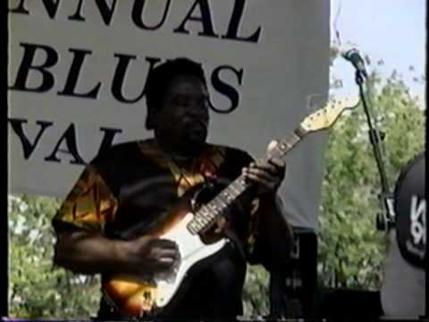 Big Jack Johnson 7-31-93 Pocono Blues Festival