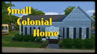 The Sims 4: Small Colonial Home