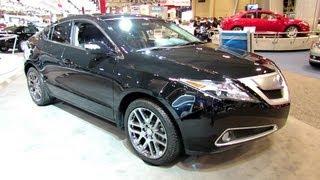 2012 Acura ZDX SH-AWD Exterior and Interior