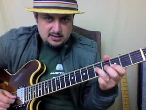 Blues Guitar Lesson Soloing - Quick Licks 9 - Nice Little Sequence To Practice