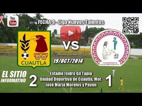 Arroceros Cuautla 2 - 1 Deportivo Nuevo Chimalhuacán / (19/Oct/2014)