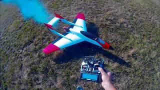 Jet RC model Navy Cat maiden flight