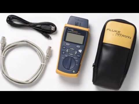 Best Price Free Shipping Fluke Networks CIQ-100 Network Cable Tester