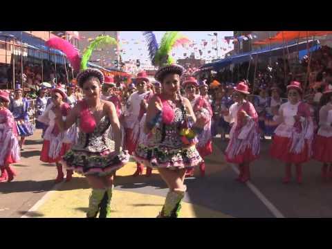 2014 Fraternidad Morenada Central Oruro,  Carnaval de Oruro