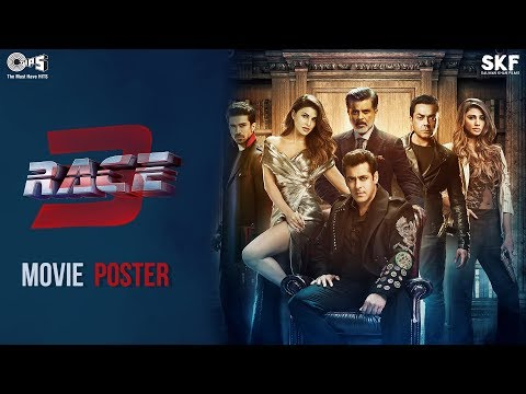 Race 3 Movie Poster   Salman Khan   Remo D