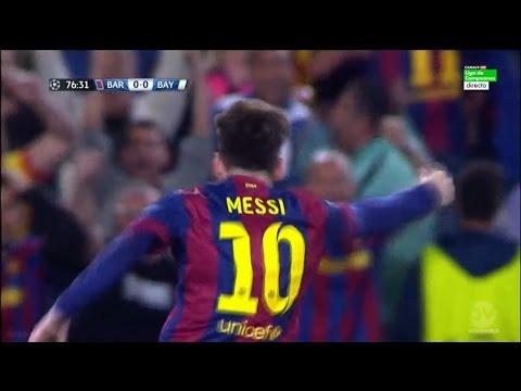Lionel Messi vs Bayern Munich 06/05/2015 (Home) Spanish Commentator HD