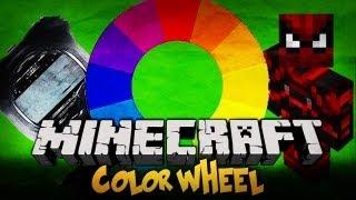 Minecraft Challenges - Color Wheels - 15 Kolorów Wełny w 30 minut !