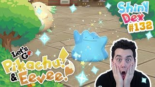 INSANE SHINY DITTO! VOICE ACTIVATED! POKEMON LET'S GO PIKACHU and EEVEE!