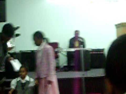 sunday school and choir on father's day; trinity pentecostal church of God, ...