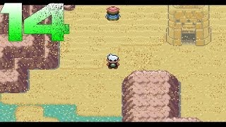 Pokemon Emerald   Episode 14   Where is The Mirage Tower and I got my Swampert!