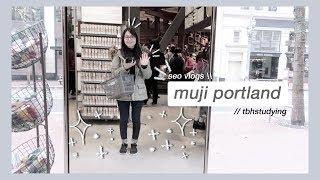 muji portland // seo vlogs