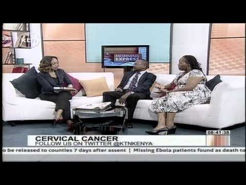Morning Express discussion on Cervical cancer and how it affects women