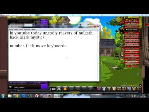 AQW dark mystic hack ungodly reavers of nulgath