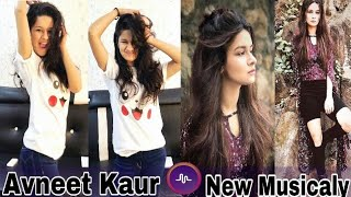Avneet Kaur New Famous Musical.ly    Musically India Compilation.