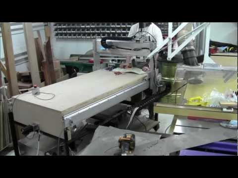 DIY CNC Router Build Day 40 - Full motion witih cable management
